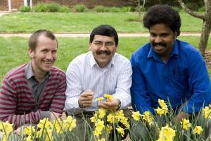 Dr. Jose Fuentes and Grad Students